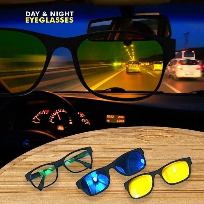 Mágneses Napszemüveg Magic Vision 3-az-1 be