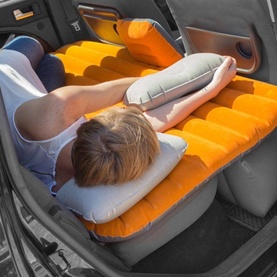 Autós felfújható ágy/matrac kompresszorral