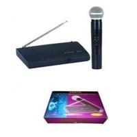 Vevővel rendelkező wireless mikrofon