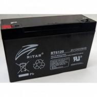 Akkumulátor Globstar 6V 12Ah RT6120