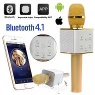 Hordozható Karaoke Vezeték Nélküli Mikrofonnal - Beépített Hangfal es Bluetooth-al