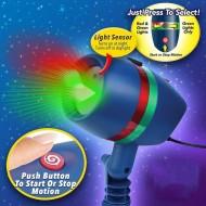 Laser Motion Proiektor - Mozgó Lézerfény Rendszer