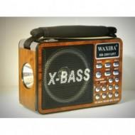 Waxiba XB-2091URT MP3-as lámpával ellátott multifunkcionális rádió