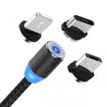 Mágneses USB töltőkábel az okostelefonokhoz