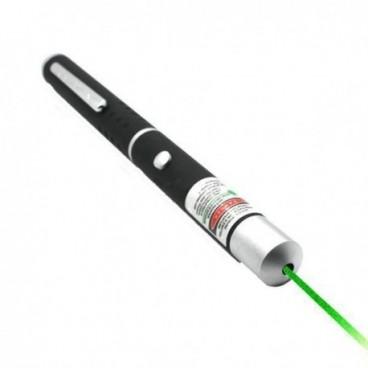 100mW 1 pointer fejjel rendelkező zöld lézer