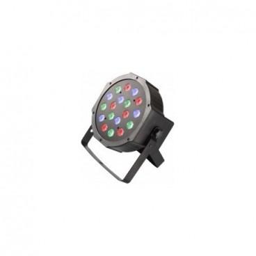 18 ledes Mini Par Light projektor