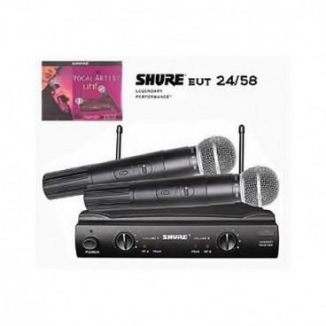 2 professzionális wireless mikrofon