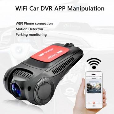 Autó Kamerák-Univerzális Wifi Car Camcorder 1080P