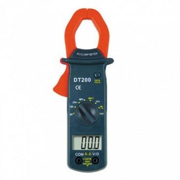 Digitális lakatfogó multiméter-LCD DT200