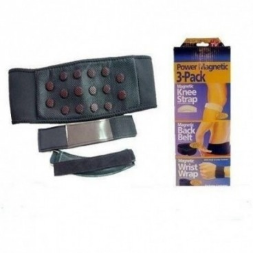 Dr.Levine mágneses derékövet, térd- és csuklópántot tartalmazó készlet