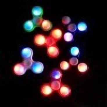LED Fidget Spinner - kézi játék
