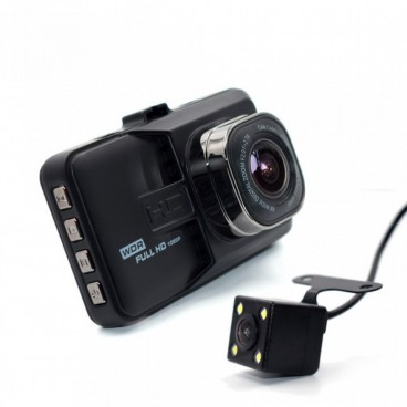 Legújabb Dupla AutóS Kamera- DVR Novatek Kamera 1080p Full HD Videó BlackBox