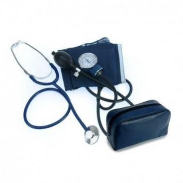 Orvosi aneroid vérnyomásmérő és sztetoszkóp