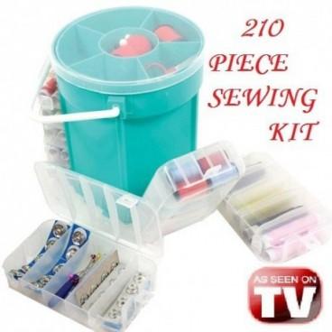 Sewing Kit 210 elemből álló varrókészlet
