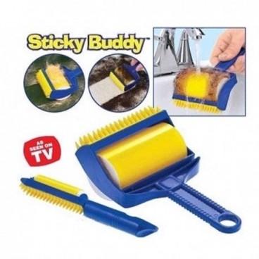 Sticky Buddy szörmetisztító forgókefe