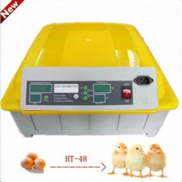 Tojáskeltető Automata HT-48 Kapacitás 48 DB csirke tojás
