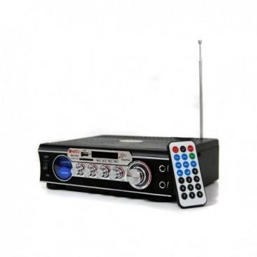 USB/SD és MP3 lejátszós audio erősítő