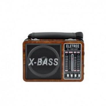 Waxiba XB-1091URT MP3-as lámpával ellátott mini rádió