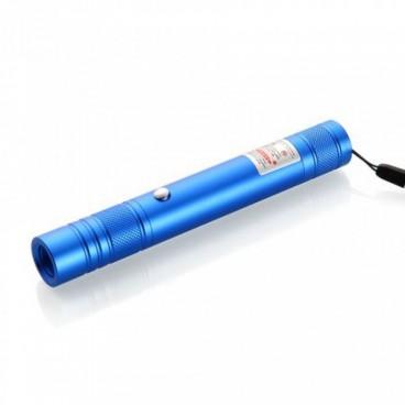 Zöld Power Laser Pointer 500 mW akkumulátorral és USB töltéssel